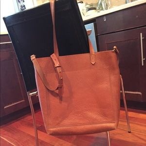 Madewell Leather Tote Size Medium
